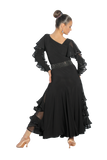 Cascading Frill Ballroom & Smooth Skirt