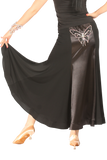 Exclusive Butterfly Embellishment Ballroom & Smooth Skirt