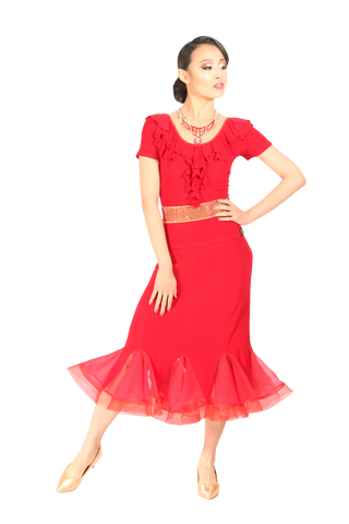 Godet silhouette Ballroom & Smooth Skirt