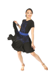 Flounce Lace Latin & Rythm Skirt - Where to Buy Dancewear SM Dance Fashion Competition Outfit Costume