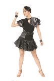 Mini Layered Latin & Rythm Skirt - Where to Buy Dancewear SM Dance Fashion Competition Outfit Costume