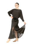 Loose Long Sleeve Blouse - Where to Buy Dancewear SM Dance Fashion Competition Outfit Costume