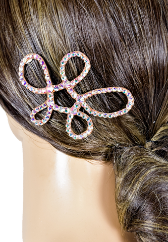 Freeform Cattleya Flower Hair Piece