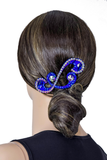 Blue Inhibit Hair Piece - Where to Buy Dancewear SM Dance Fashion Competition Outfit Costume