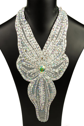 Butterfly Plastron Necklace - Where to Buy Dancewear SM Dance Fashion Competition Outfit Costume