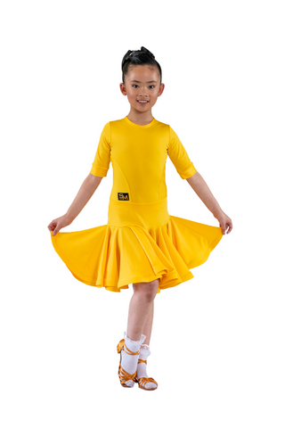Girl's Latin Competition Dress | SM Dance Fashion