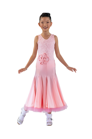 Girls Ballroom Dance Performance Dress | SM Dance Fashion