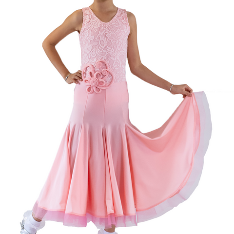 Girl's Ballroom Dance Performance Dress - Where to Buy Dancewear SM Dance Fashion Competition Outfit Costume