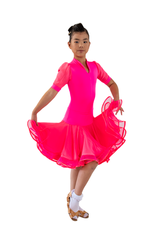 Gored Latin Dress | SM Dance Fashion