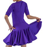 Girl's Latin Dance Dress | SM Dance Fashion