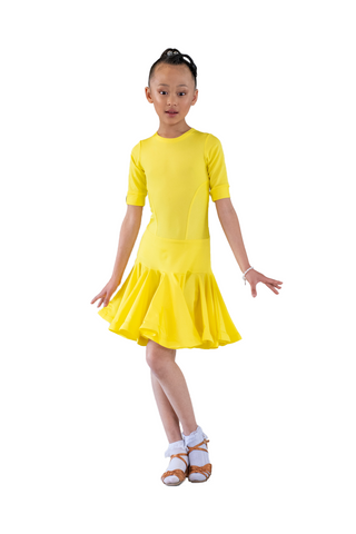 Girl's Latin Dress - Where to Buy Dancewear SM Dance Fashion Competition Outfit Costume