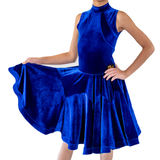 Princess Velvet Dance Competition Dress - Where to Buy Dancewear SM Dance Fashion Competition Outfit Costume