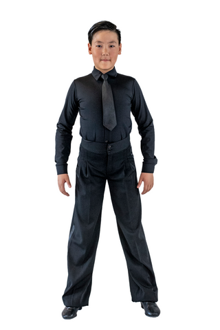 Boy's Ballroom & Latin Shirt - Where to Buy Dancewear SM Dance Fashion Competition Outfit Costume