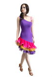 COLORFUL LATIN DRESS - Where to Buy Dancewear SM Dance Fashion Competition Outfit Costume