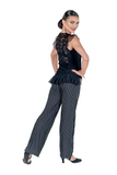 Straight Leg Pin Stripe Trousers - Where to Buy Dancewear SM Dance Fashion Competition Outfit Costume