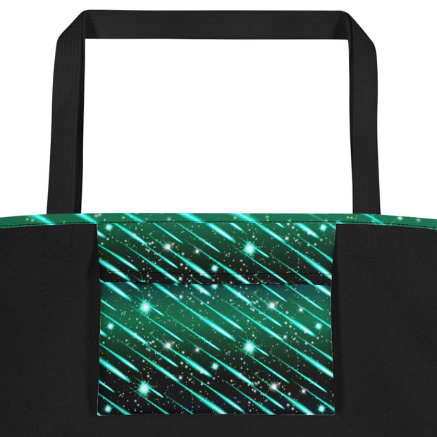 Meteor Shower Beach Bag