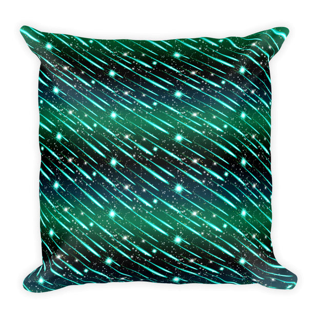 Meteor Shower Square Pillow