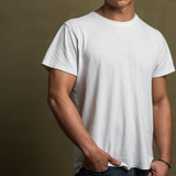 Men's Un-dyed Hemp Tee