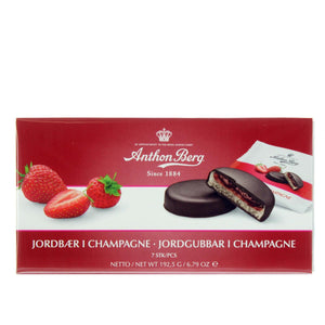 Strawberries in Champagne