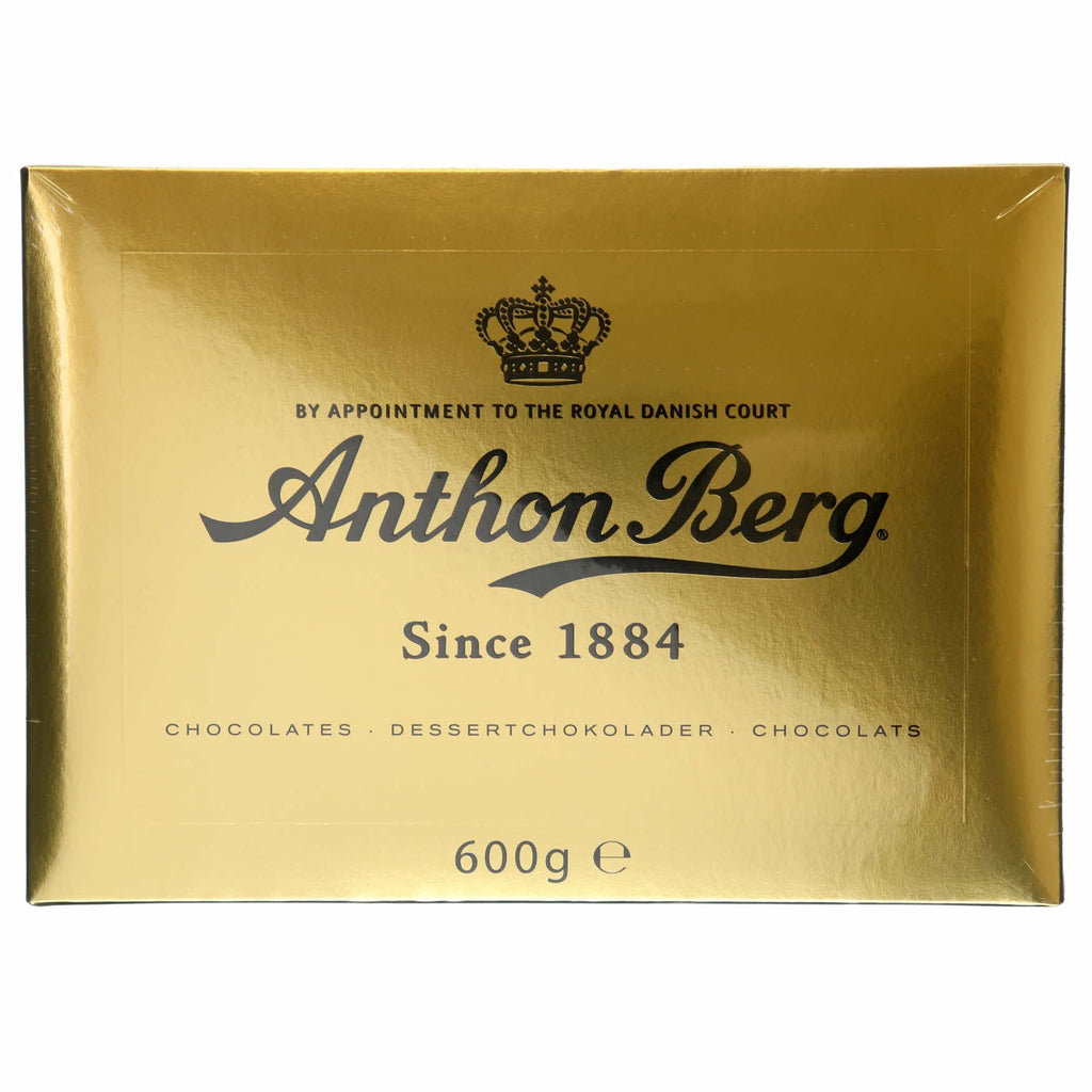 Anthon Berg Guld box filled chocolates