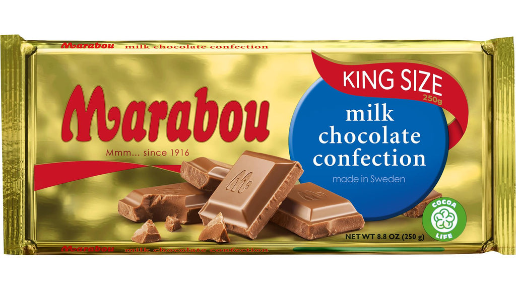 Marabou Milk Chocolate.