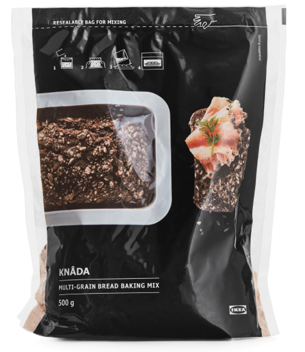 Rugbrod Multigrain bread baking mix (500g)