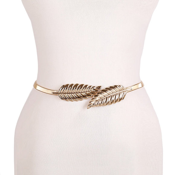 Flower leaf shape Elastic belt