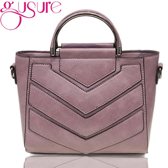 Gusure Leather Detailed Handbag