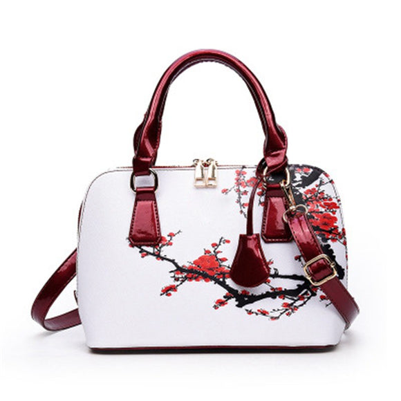 Elegant Floral Shoulder Luxury Handbag
