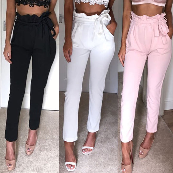 High Waist Stretchy Comfortable Pencil Pants