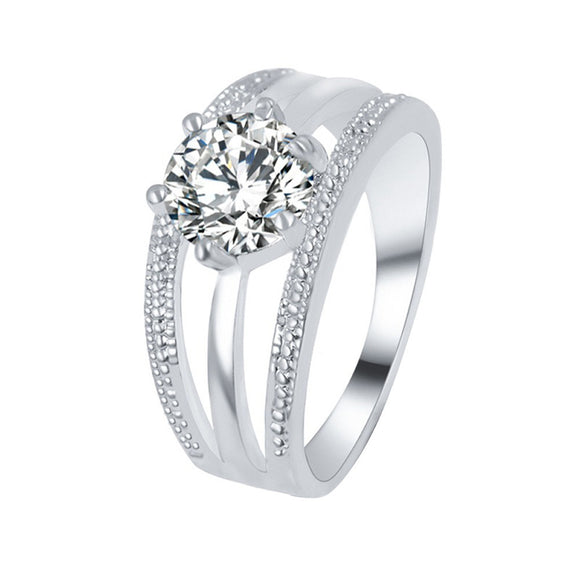 Wedding Engagement Ring Crystal