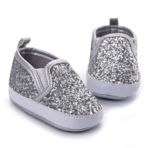 Girls Sparkle Slip-Ons