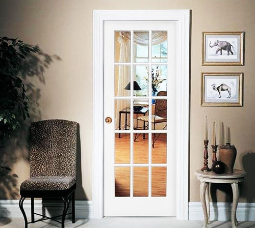 Single French Door with no Sidelites