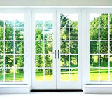 French Sliding Patio Doors with Fixed (Left & Right) Sidelites