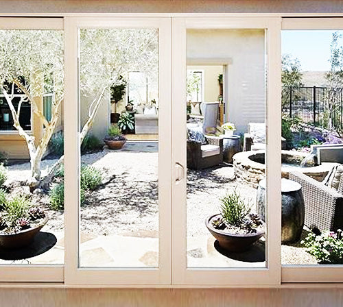 French Sliding Patio Door - Opens form Middle to Left