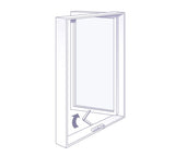 Luxury Frame Full Single Casement Windows