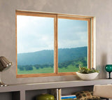 Imperial Frame Sliding Window with Stationary Window