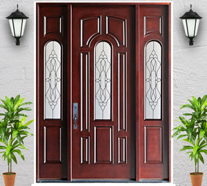 Advancer Inc - Single Composite Door with Sidelites - AR 09 Series