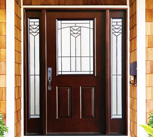 Advancer Inc - Single Composite Door with Sidelites - TD 144 Series