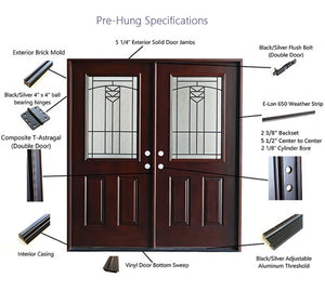 Advancer Inc - Double Composite Door - AR 09 Series