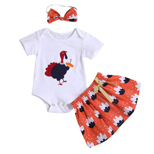 Turkey Skirt Set