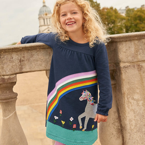 Rainbow Pony Dress