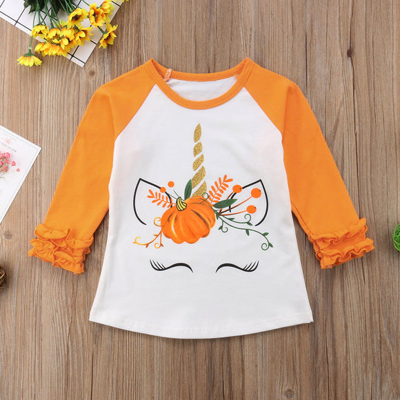 Fall Unicorn Tee