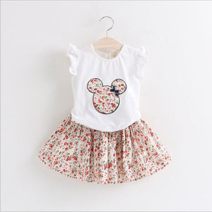 Minnie Skirt Set