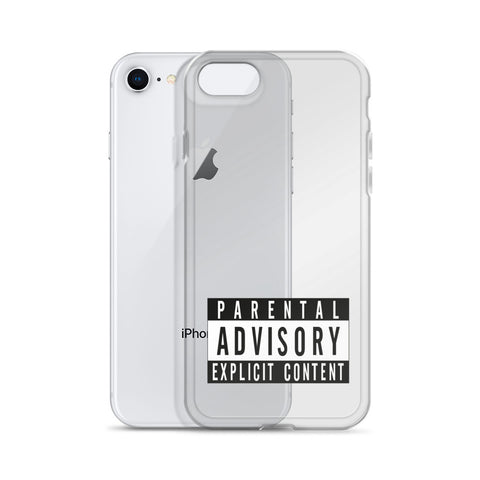 EXPLICIT CONTENT IPHONE CASE