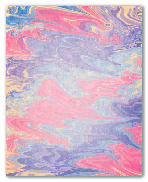 Liquid Marble - cross stitch fabric size 16 x 20 inches