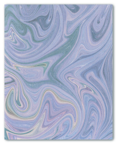 Marbled Nebula Muted - cross stitch fabric size 16 x 20 inches
