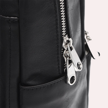 Load image into Gallery viewer, Custom Monogrammed Vegan Leather Convertible Bag - Sosi Leone