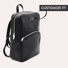 Load image into Gallery viewer, Multipurpose Convertible Backpack Black - Sosi Leone
