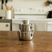 Stainless Steel Snack / Condiment Container
